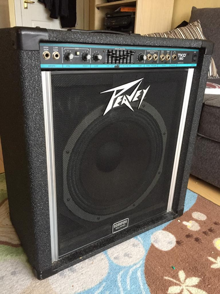 peavey tko 80 bass amp in erskine renfrewshire gumtree. Black Bedroom Furniture Sets. Home Design Ideas