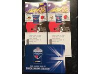 NFL International Vikings v Browns (x2 great seats)