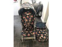 Cath Kidson Maclaren pushchair