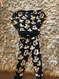 Next Mickey Mouse tracksuit aged 4-5