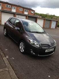 Toyota Auris 2011 reg 5 door hatchback low miles 35000 good condition