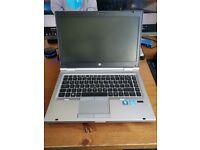HP EliteBook Core i5 Business Grade Laptop - 8GB DDR3 - 240GB SSD - WebCam - NEW BATTERY