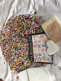 Hamma Beads, boards and ironing paper
