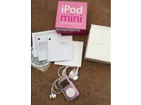 ipod mini 4gb mp3 player- boxed and complete