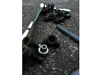 Bmw wheel bolts + locking nut +key