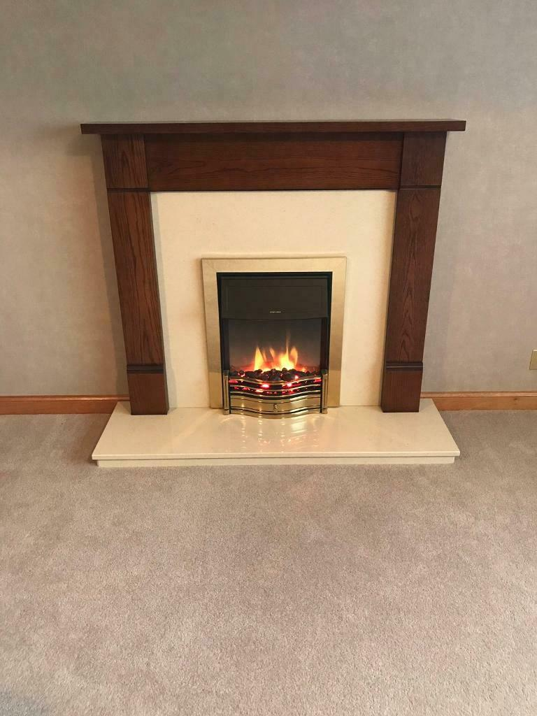 Electric Fireplace Suite In Thurso Highland Gumtree