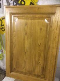 New oak kitchen unit doors still boxed
