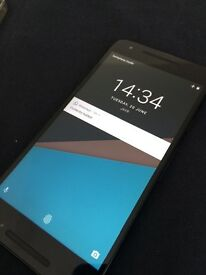 Unlock black LG nexus 5x 16gb good condition