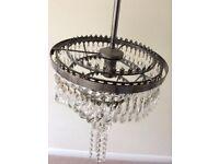ceiling chandelier (X2)