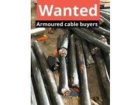 Armoured cable buyers,free metal removal,scrap metal collection