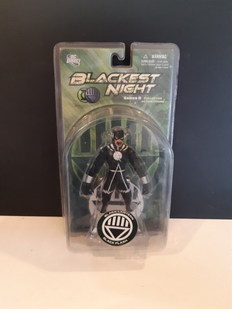 Dc Direct Blackest Night Series 8 Black Flash Action Figure 7 And Base Rare In Thetford Norfolk Gumtree