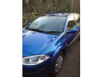 Megane 1.6 low mileage 73500 sell or swap