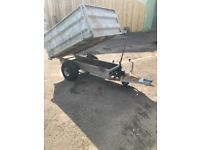 Tipper trailer for Quad or Compact tractor 6'x4'