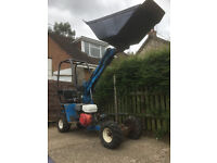 ROUGHNECK, DUMPER SKIP LOADER, not MUCK TRUCK, POWER BARROW