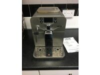 Gaggia Brera Coffee Machine. Bean to cup. Single touch.