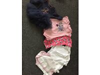 Baby girl newborn/ first size clothing bundle