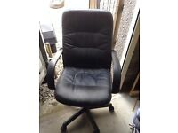 Free computer chair with adjustable height