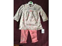 baby girl outfit.New.Asda.