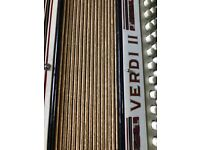 1930's Hohner vintage Piano Accordion - Verdi II