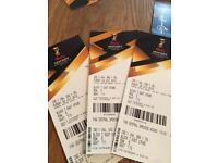 Hockey World Cup tickets. Sunday 29th July. England gNe