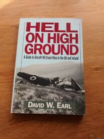 4 Non Fiction books, Hell on High Ground, 12 Days in May, Disaster in the Air, Great World War 2 Air