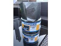 Self-adhesive lead flashing tape