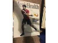 Bulk buy - men healths/fitness magazine (17 magazines)