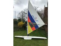 Windsurfer - complete with , board, sail and boom
