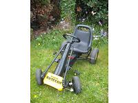 ORIGINAL Vintage Kettler KETTCAR Go-Kart Pedal Car Black/Yellow FAB Condition BARGAIN PRICE! £60ono