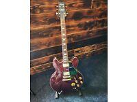 1980 Aria Pro II ES500 WR (Semi-hollow) electric guitar
