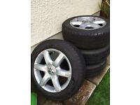 VOLKSWAGEN ALLOYS 17""