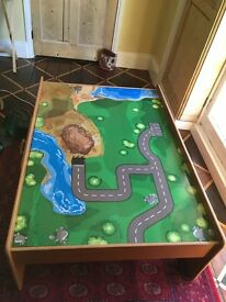 Play table with train set