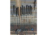 Selection of golf clubs (MacGregor, Ping, Malibu & Dunlop) - REDUCED PRICE