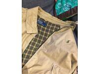 Polo Ralph Lauren Harrington jacket size L - Beige