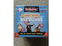 2 x Brainbox Horrible Histories Vile Villains Memory Game