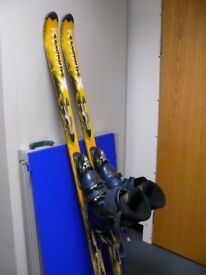 Salomon skis and boots, size 10?