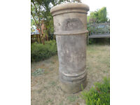 Chimney pot -Ideal for garden pot - Off white colour with some ageing