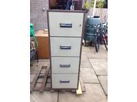 Chubb Milner fireproof filing cabinet