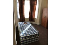 Twin room in a flat with all bills included