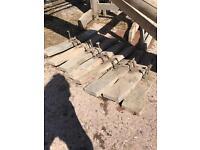 Set of 4 wooden Showjumps