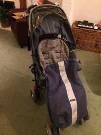 Maclaren from Birth Buggy with matching footmuff