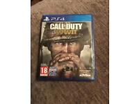 PS4 call of duty ww11 brand new