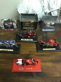 Model motorcycle collection