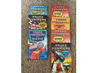 Transformers first edition books