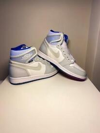 SIZE 9 Jordan 1 zoom 'White Racer Blue' NEW