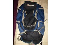 Berghaus ridgeway 65+10 backpack. Excellent condition.