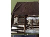 Beautiful Christofle Silver-plated 143-piece Cutlery Set & Chest NEW/UNWANTED GIFT