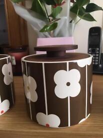 Orla Kiely storage Jars