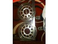 cbr1000rr6 fireblade front brake discs , hardly any wear £90 ovno