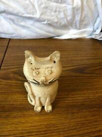 Money box cat ornament
